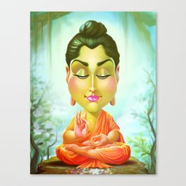 Siddhartha Gautama Buddha Canvas Print