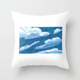 chunk of sky #1 Throw Pillow