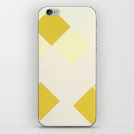 Yellow Diamonds iPhone Skin