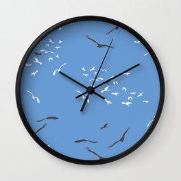 Flying Free At Kakadu Wall Clock