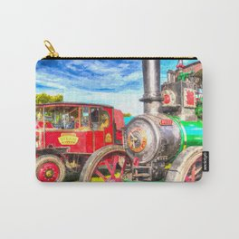 Traction Engine And Steam Lorry Art Carry-All Pouch