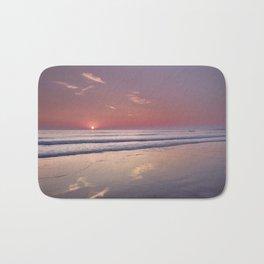 Barrosa Beach At Sunset. Cadiz Bath Mat