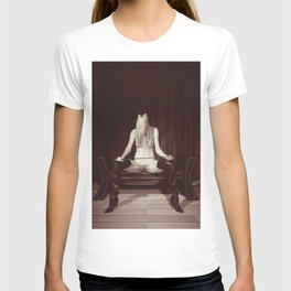 Kinky fetish image with a beautiful nude woman T-shirt