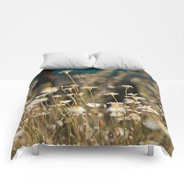 Field of Daisies Comforters