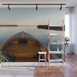 Summer Mornings On The Lake Wall Mural