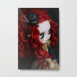 STEAMPUNK (Ooak  BLYTHE Doll) Metal Print