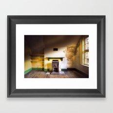 Empty Room Framed Art Print