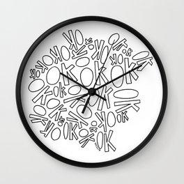 okokok Wall Clock
