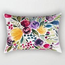 Florals I Rectangular Pillow