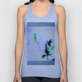The Colors Of Winter Unisex Tank Top