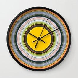 Colorful Summer Wall Clock