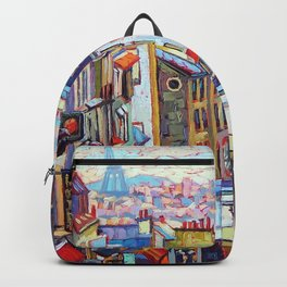 Montmartre View Backpack