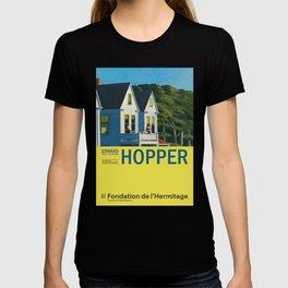 Edward Hopper - Second Story Sunlight - Minimalist Exhibition Art Poster T-shirt