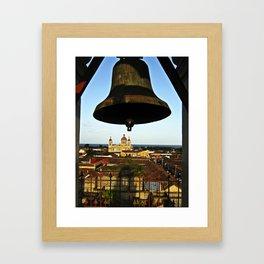 Bell Tower View, Granada, Nicaragua Framed Art Print