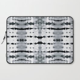 BW Satin Shibori Laptop Sleeve