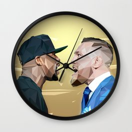 THE FIGHT OF THE CENTURY Wall Clock