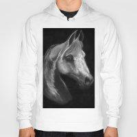 arab Hoodies featuring Arab horse portrait by Mindgoop