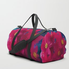 Poinsettia Abstract Duffle Bag