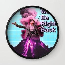 Eric Andre Aesthetic Wall Clock
