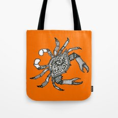 Fall Crab Tote Bag