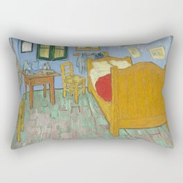 Bedroom in Arles Rectangular Pillow
