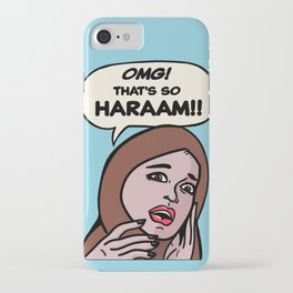 SO HARAM iPhone Case
