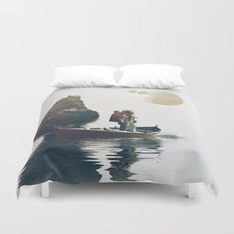 Searching Land Duvet Cover