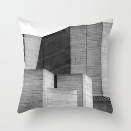 Brutalist Series - National Theatre #2 Throw Pillow