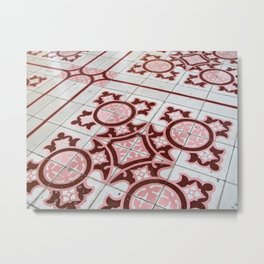 Floor Tiles II Metal Print