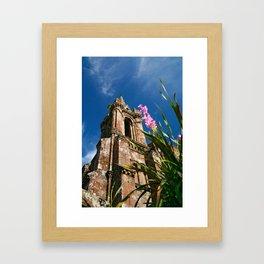 Gothic chapel Framed Art Print