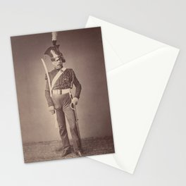 Vintage Photographic Print - M. Verlinde of the 2nd Lancers (1858) Stationery Cards