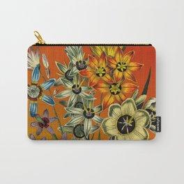 Garden Bouquet Carry-All Pouch