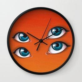 Citrus Sun Wall Clock