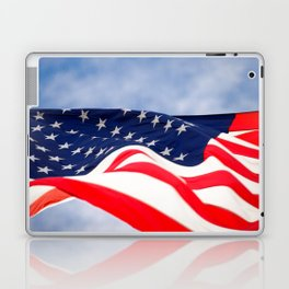 Its a grand ol flag waving in the breeze on a beautiful Memorial Day Laptop & iPad Skin