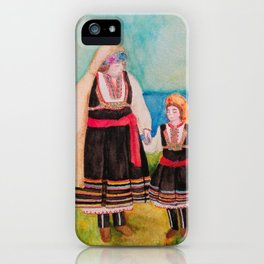 Women Folklore iPhone Case