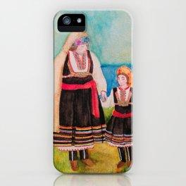 Women Folklore iPhone Case