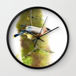 A Quick Bite by Teresa Thompson Wall Clock