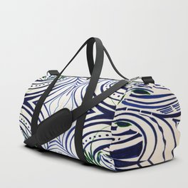 Water Flowing Plant Duffle Bag