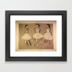 Degas Master Copy Framed Art Print