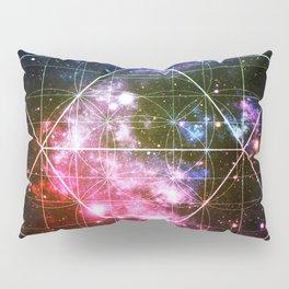 Rainbow Galaxy Sacred Geometry : Golden Rectangles Pillow Sham