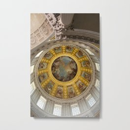 Above Napoleon Bonaparte - Look Up Series Metal Print