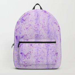 Lavender Butterflies Backpack