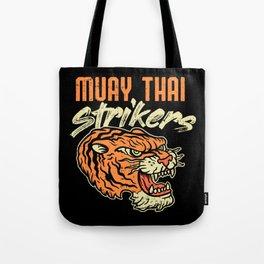 Muay Thai Strikers Tiger Kickboxing MMA Material Arts Judo Karate Gift Tote Bag