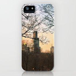 Late January Sunset iPhone Case