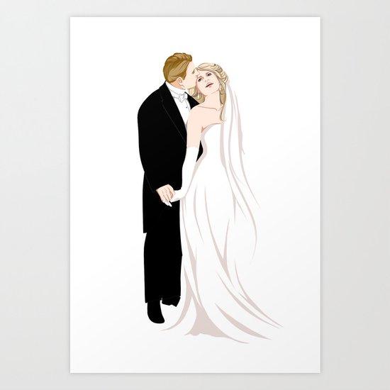 Wedding Invitation Art Print