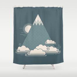 Cloud Mountain Shower Curtain