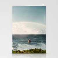 dolphins Stationery Cards featuring Dolphins by Linas Vaitonis