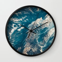 Alps from The Height Wall Clock