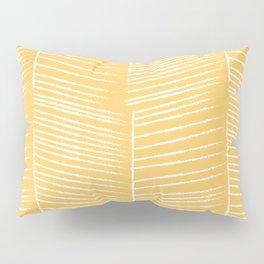 Herringbone - Marigold Pillow Sham