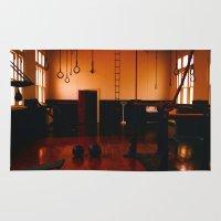gym Area & Throw Rugs featuring Gym by Flashbax Twenty Three